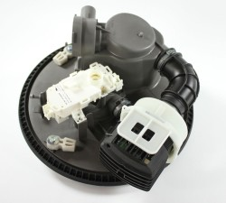 How to replace a dishwasher circulation pump and motor assembly