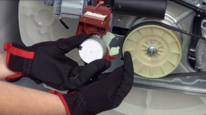 How to troubleshoot flashing lid lock errors on a vertical modular washer.