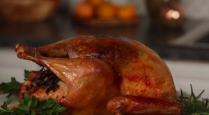 How to brine and grill a turkey.