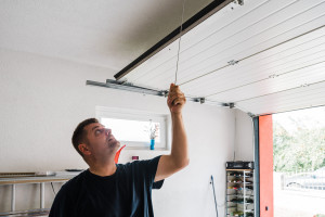 How to maintain a garage door opener.