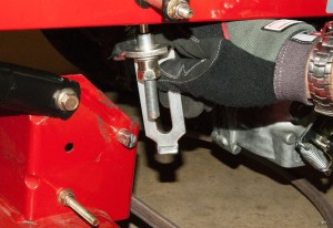 How to replace the ground drive belt on a zero-turn riding