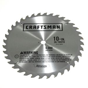 Craftsman 113 table saw blade alignment