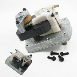 How to replace a downdraft vent gear motor