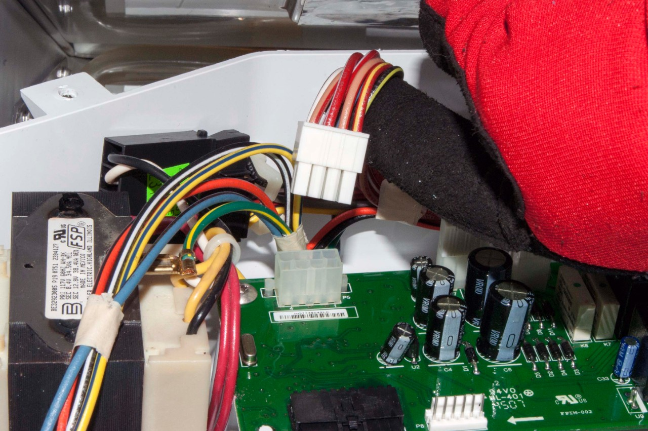 How to replace a freestanding ice maker electronic control ... Igloo Ice Maker Wiring Diagram For on