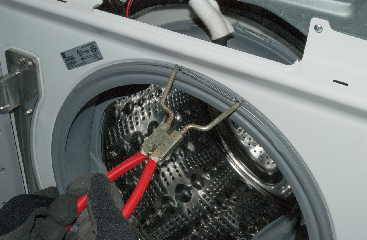 How to replace the door boot on a front-load washer | Repair