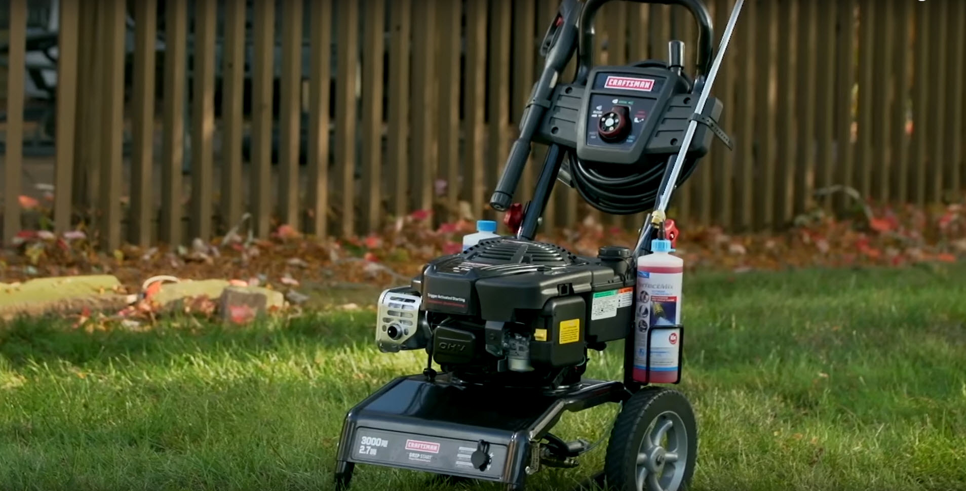 Common pressure washer problems - smoke coming out of the