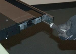Remove the switch bracket screws.