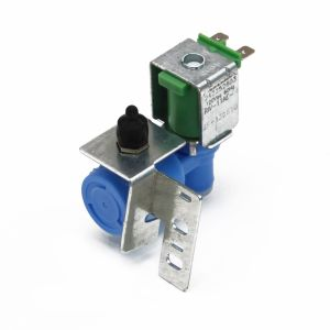 How to replace the water inlet valve in a top-freezer refrigerator