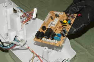 PHOTO: Remove the control board.
