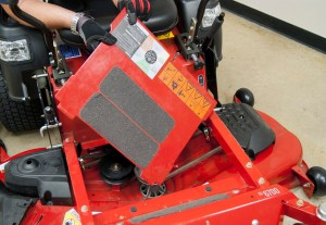 How to replace the blade belt on a zero-turn riding mower
