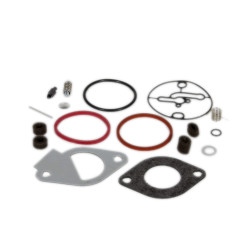 Rebuild the riding mower engine carburetor