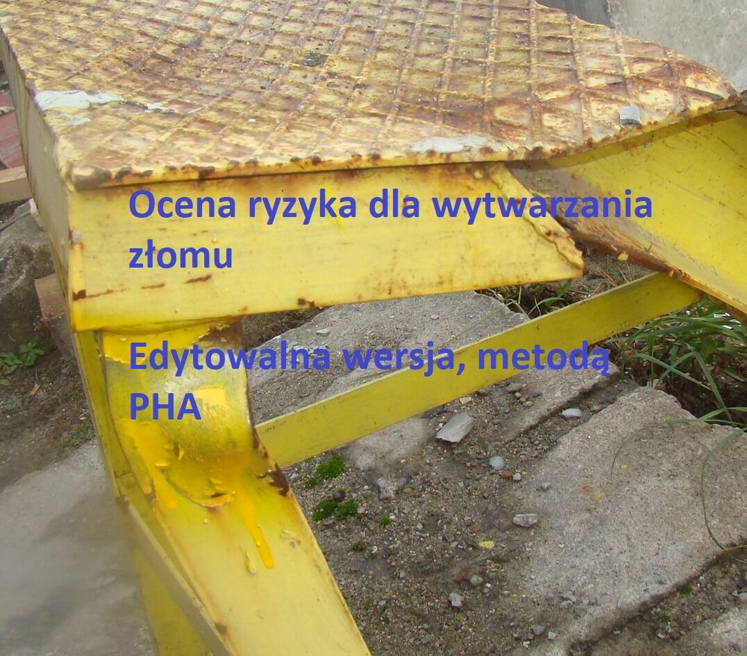 Obrazek dla postu Ocena ryzyka wytwarzanie złomu