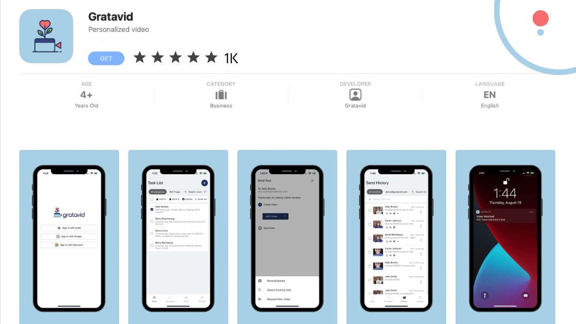Announcing The Gratavid iOS & Android App!