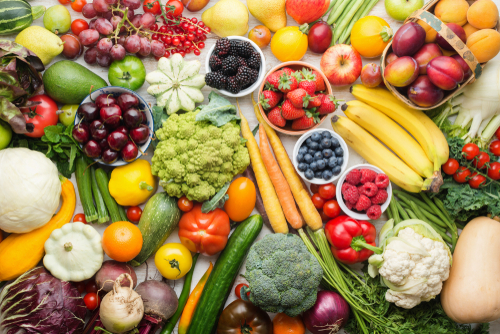 healthy fruits and vegetables to calm acid reflux