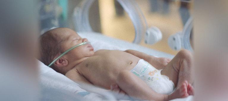 低出生体重児用おむつへの取り組み:睡眠を妨げず、小さな赤ちゃんがぐっすり心地良い眠りにつけるように