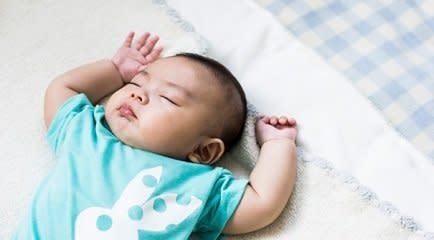 赤ちゃんは眠りの天才