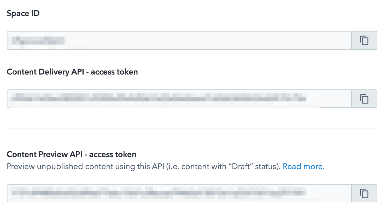 Step 3: Get API keys