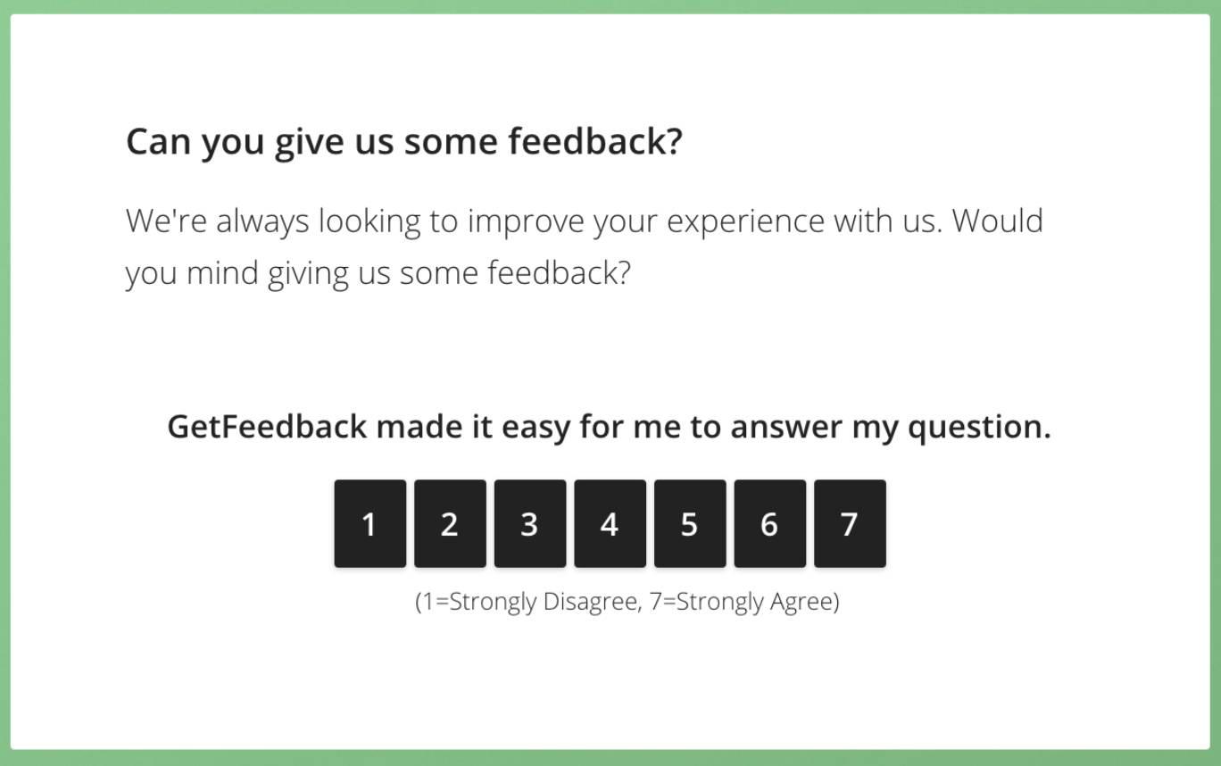 CES survey example