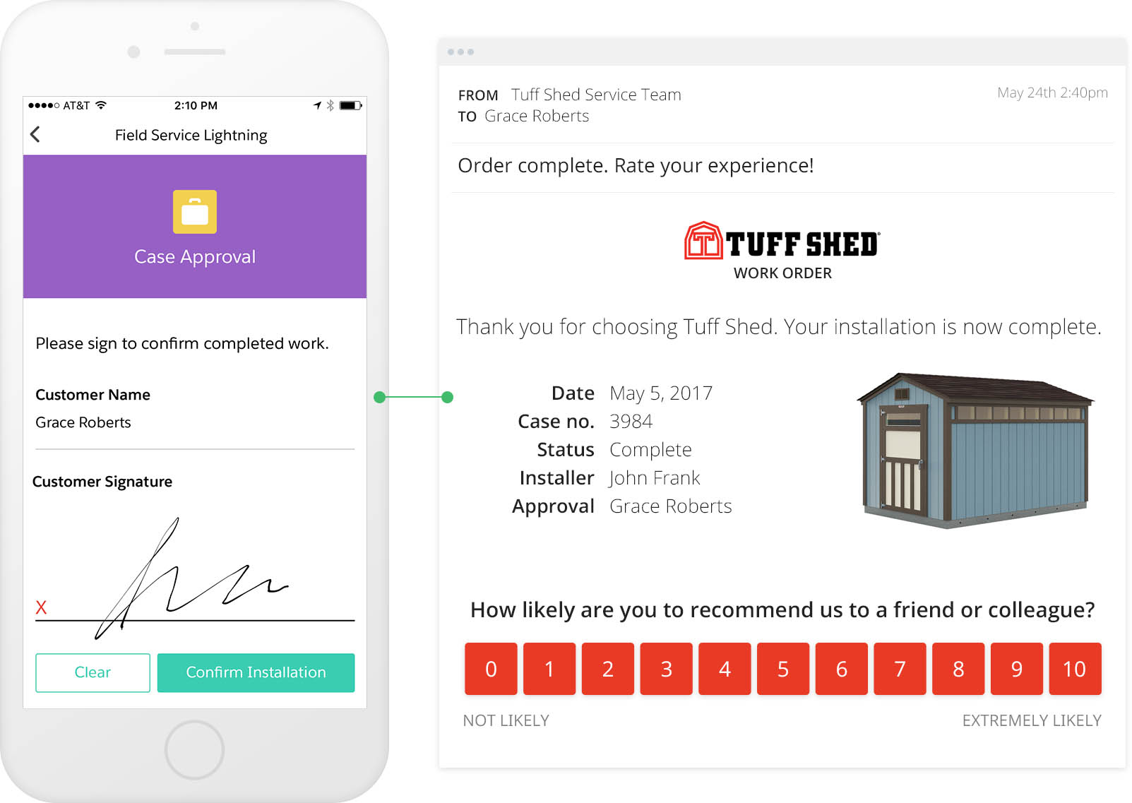 email surveys - TuffShed