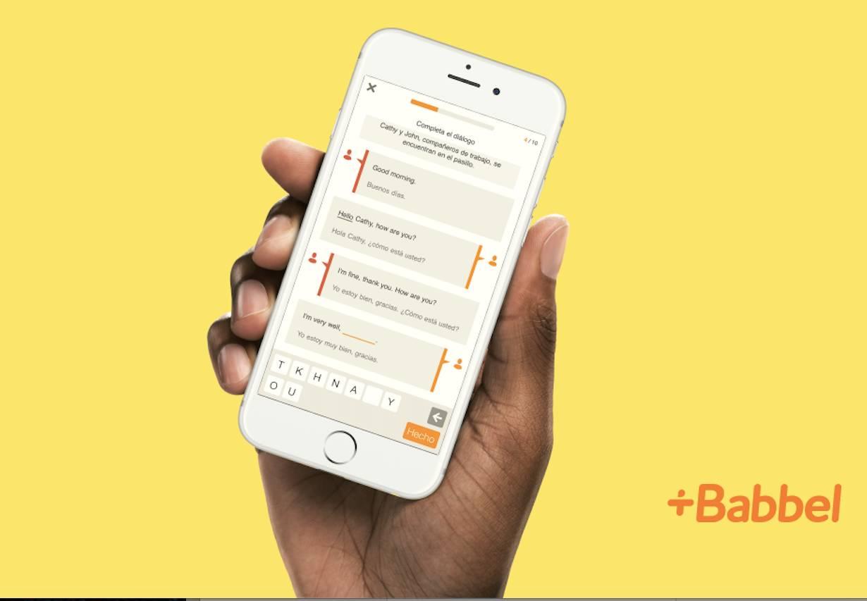 babbel app example