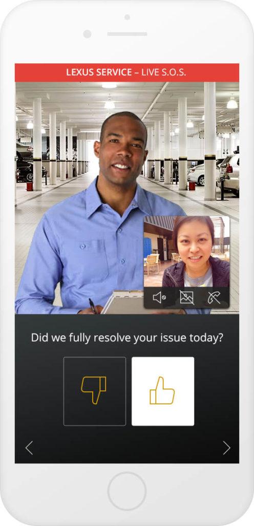 In-app survey