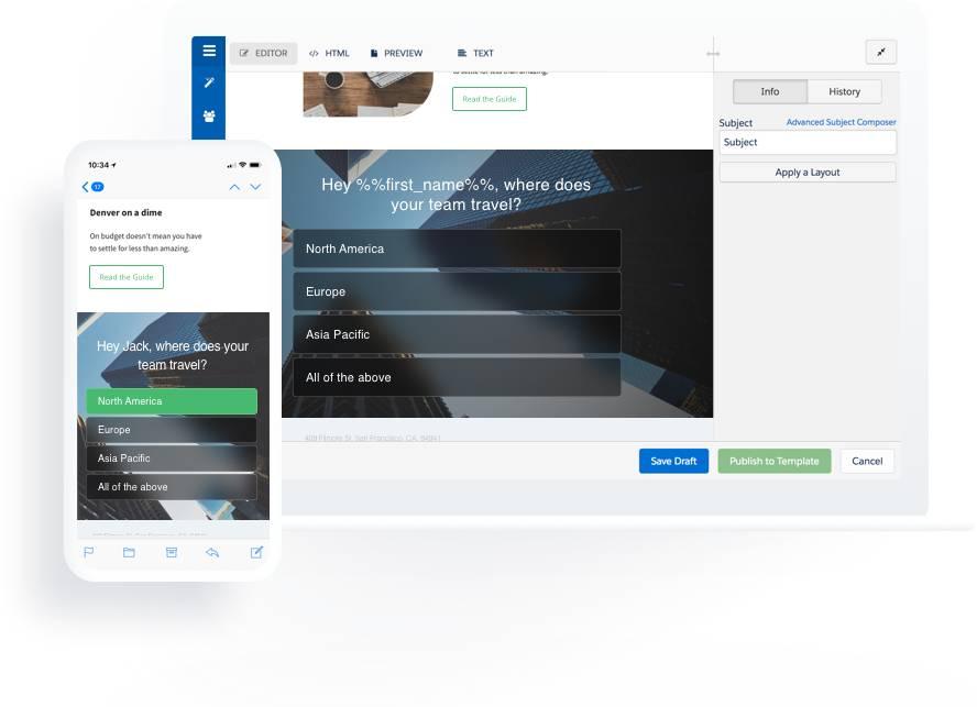GetFeedback for Pardot - prospect feedback survey