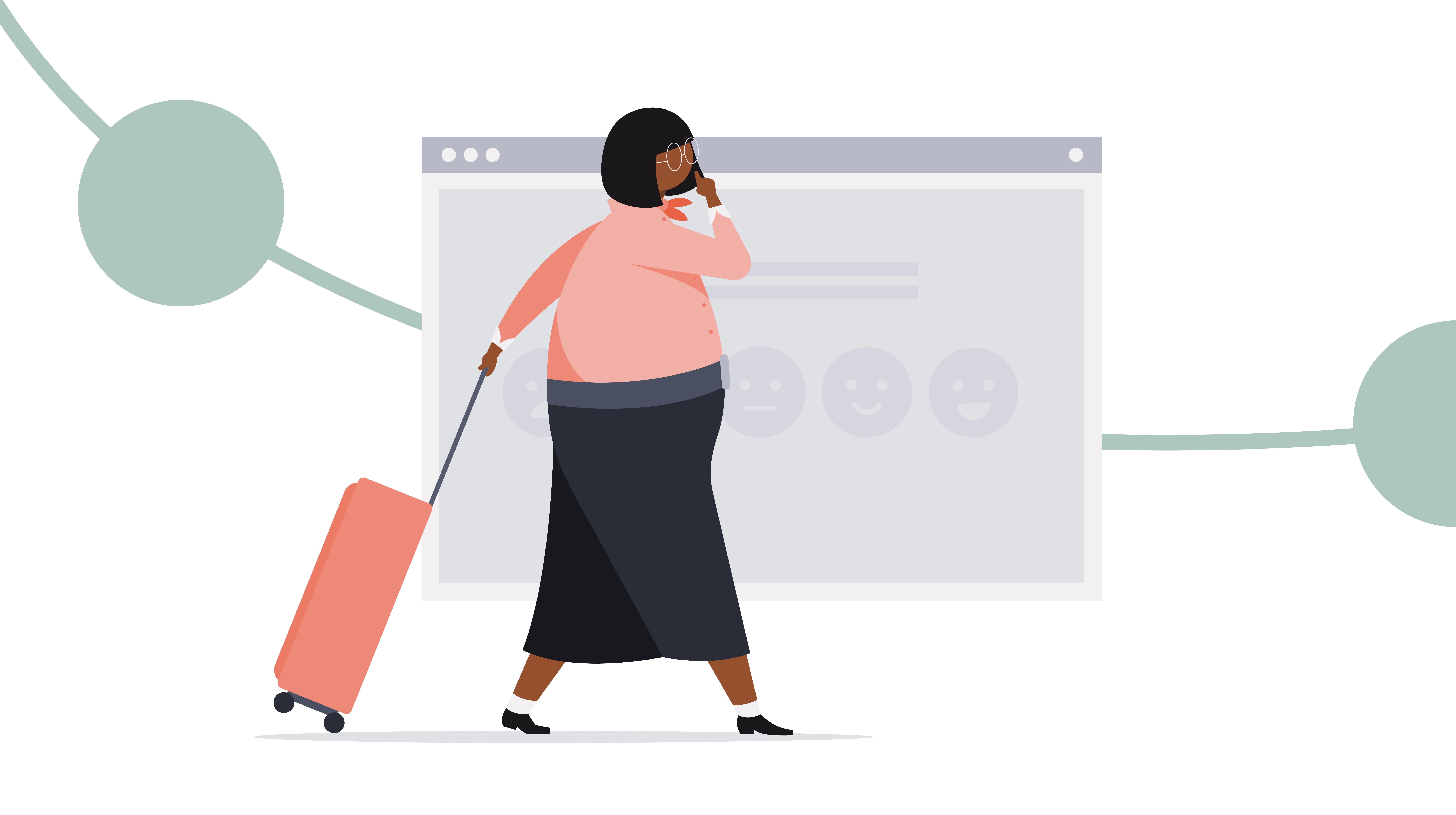 Customer Journey Blog Illustrations 02 Customer Journey Blog Illustration 02 no background