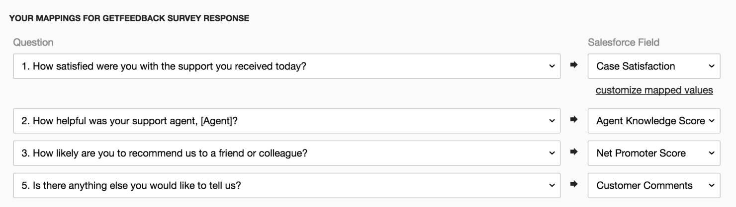 Salesforce Survey Integration