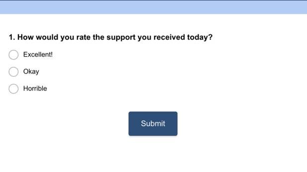 bad survey example