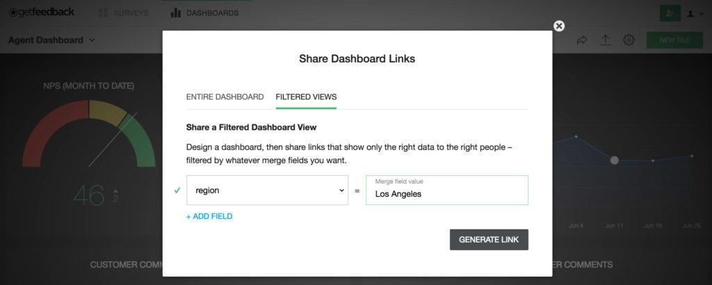 Dashboard filtering - add filter