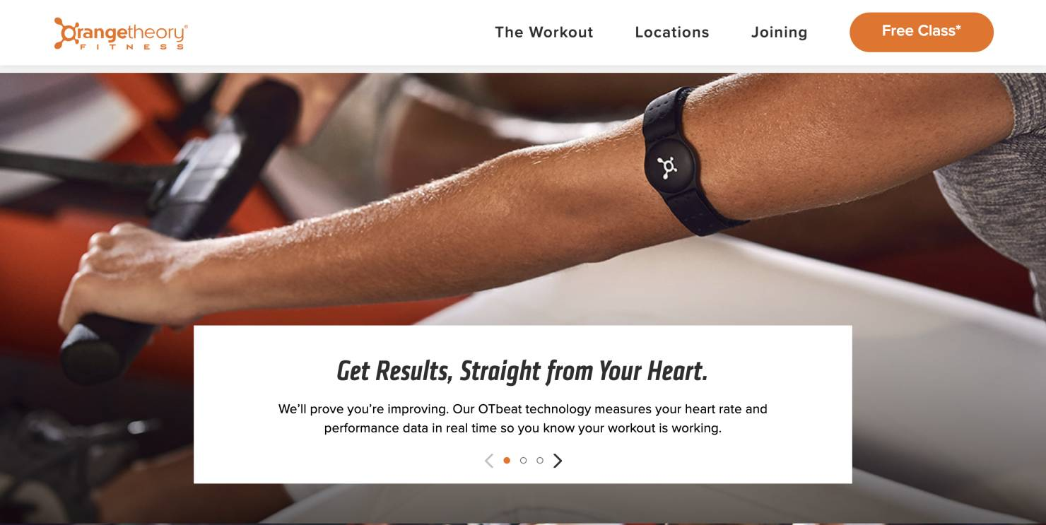 orangetheory fitness seamless customer experience example