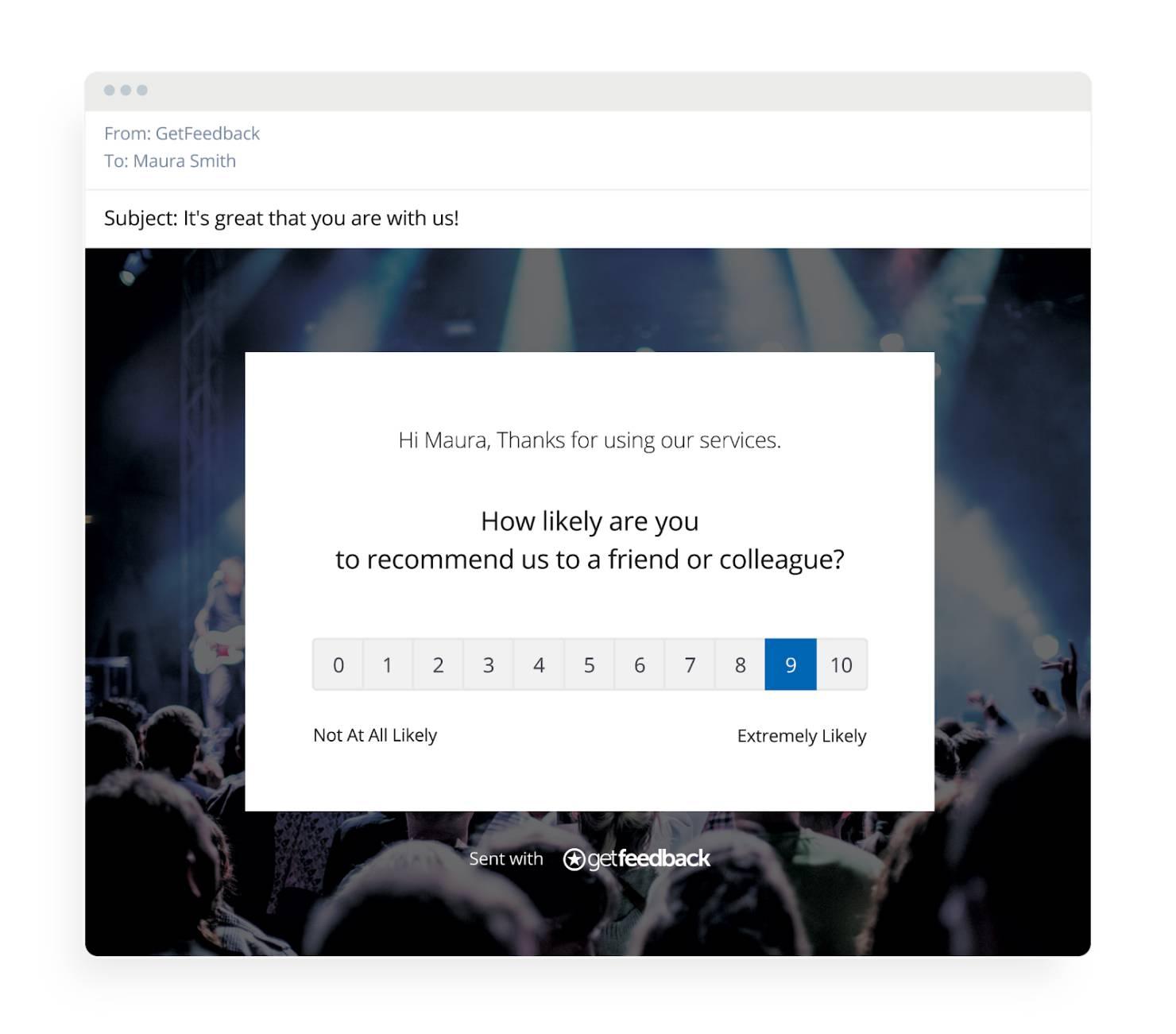 Net Promoter Score (NPS) Survey - Embedded in Email