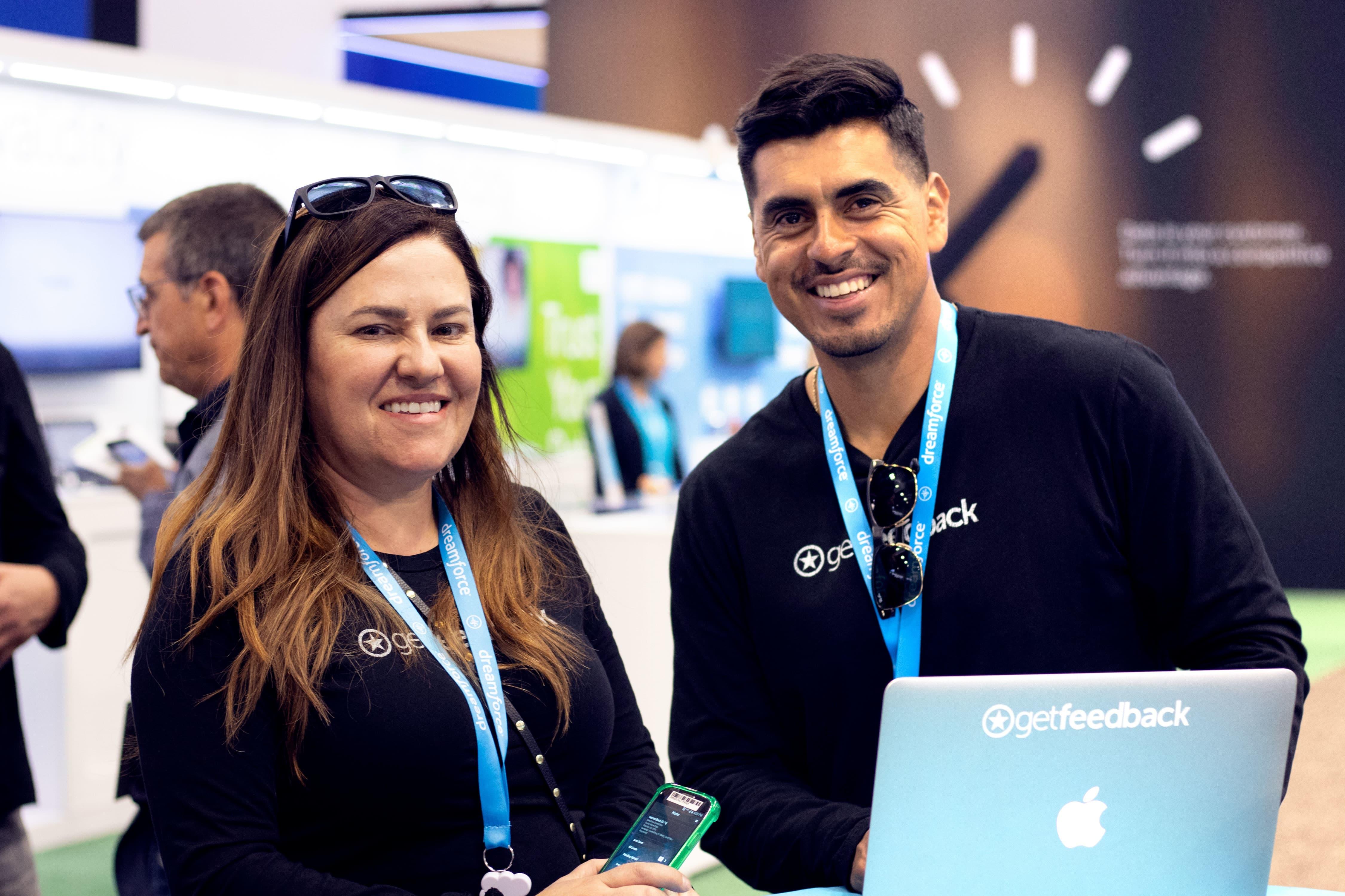Dreamforce 2018 - Amanda Baskind and Eric Rivas