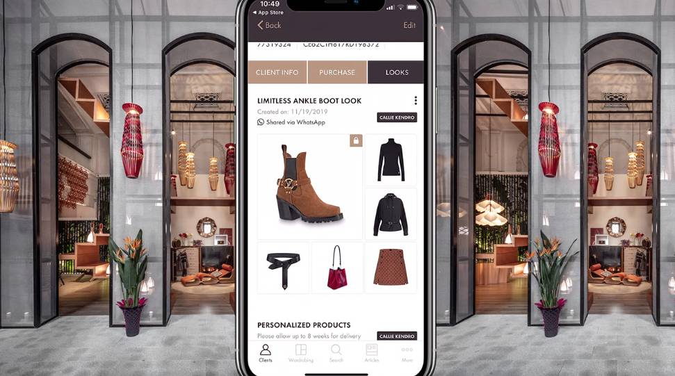 Louis Vuitton in store customer experience