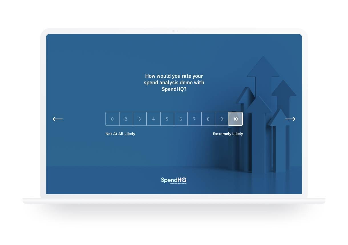 Post demo survey SpendHQ