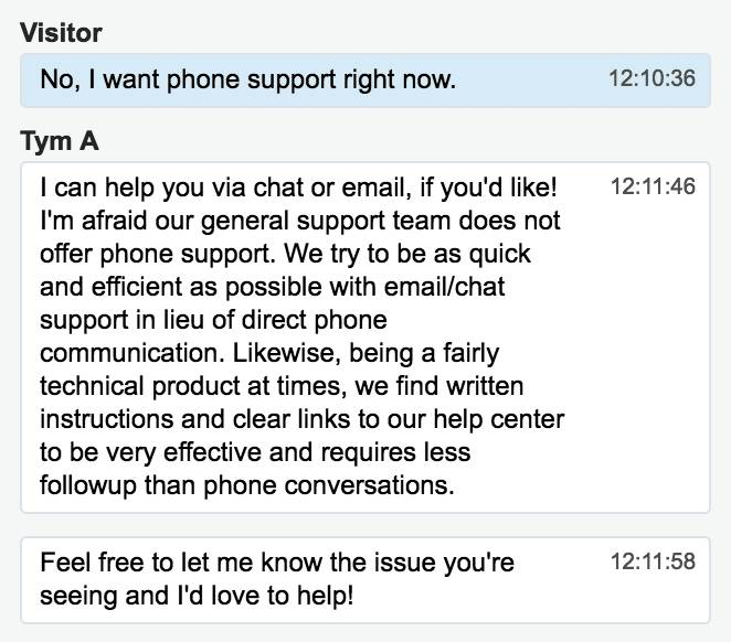 Live chat customer support holiday season 2