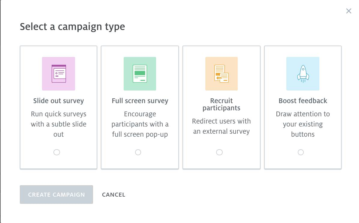 Campaign types image