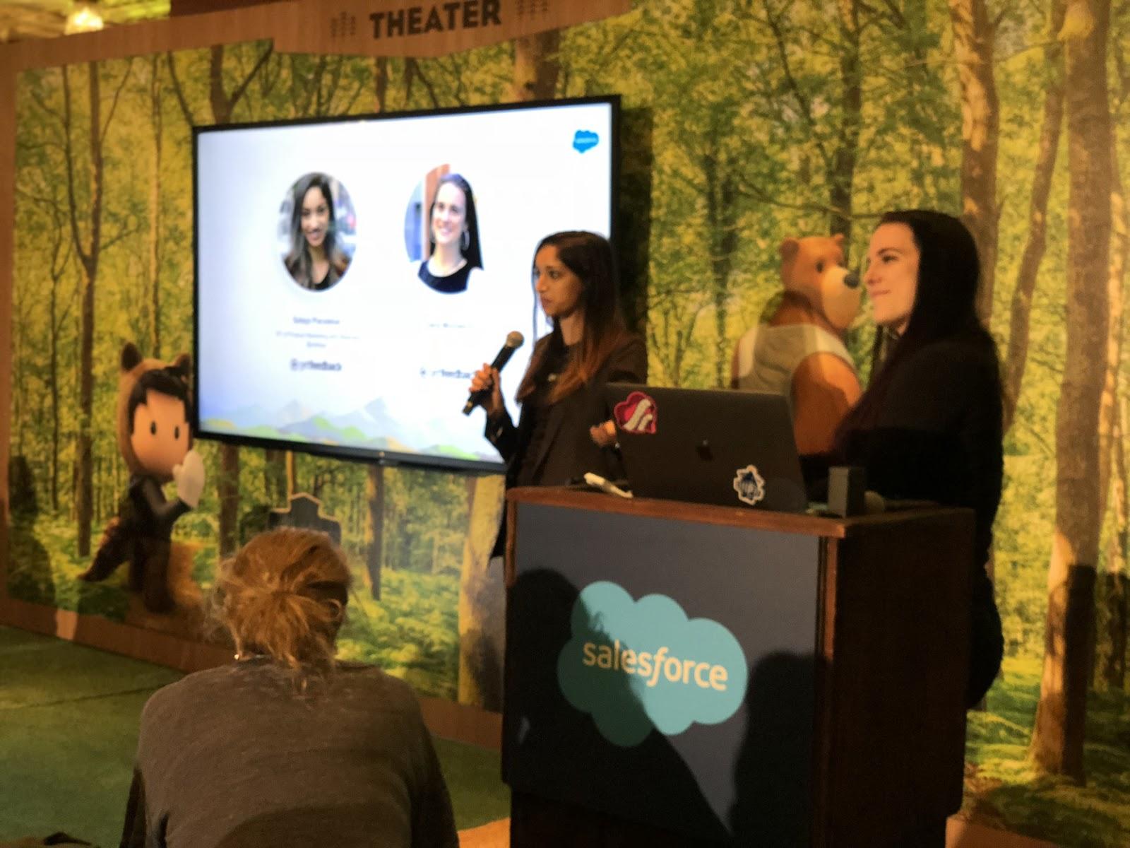 Dreamforce 2018 - Sateja Parulekar - VP of Product Marketing and Alliances, GetFeedback & Dara Monasch - Product Manager, GetFeedback