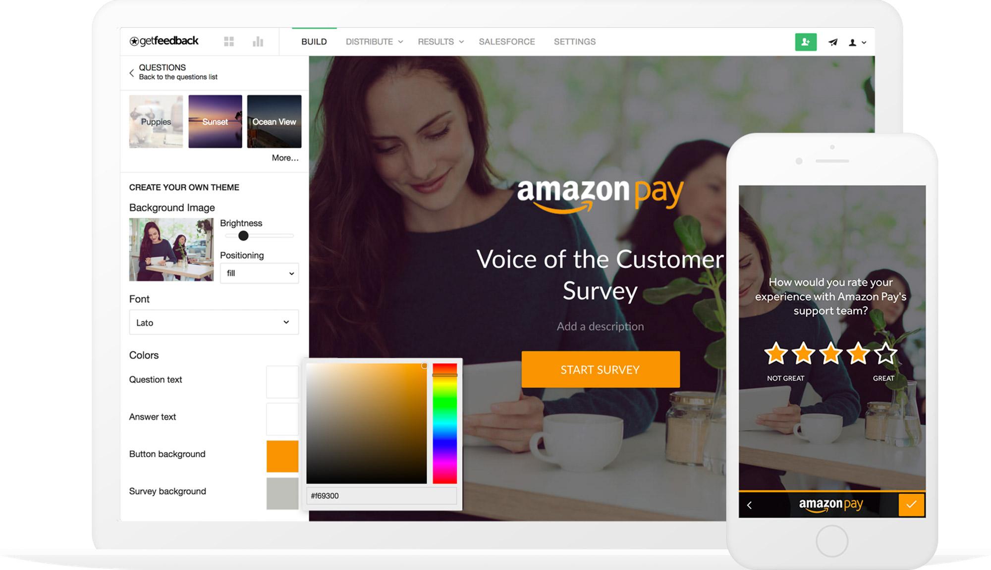 Custom Survey Design