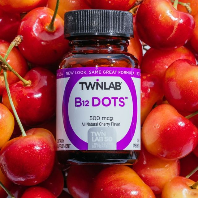Grab our B-12 Dots for an energy boost! These micro-tablets dissolve quickly to give your body the energy boost it needs with the added bonus of keeping your nerve and blood cells healthy too.