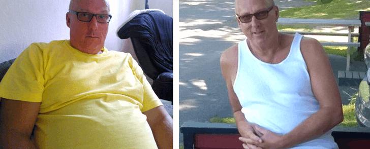 Recept med alla kalorier inräknade hjälpte Roger ner i vikt