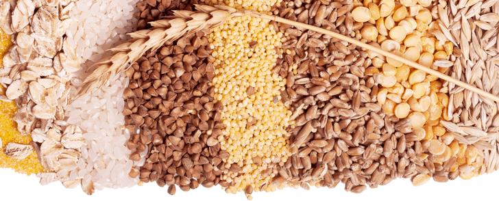 Kaloritabell: Spannmål och fullkorn