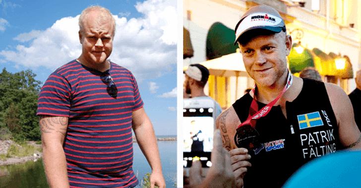 Han gick från 120 kg till Ironman *