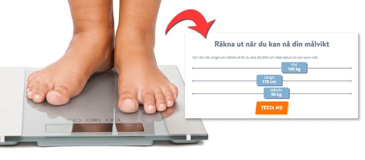 Testa ditt BMI – på 10 sekunder