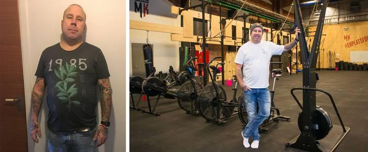 Niklas har minskat 15 centimeter runt midjan – på åtta veckor