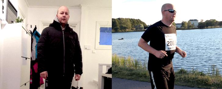 Registrerade all mat och motion – och gick ner i vikt