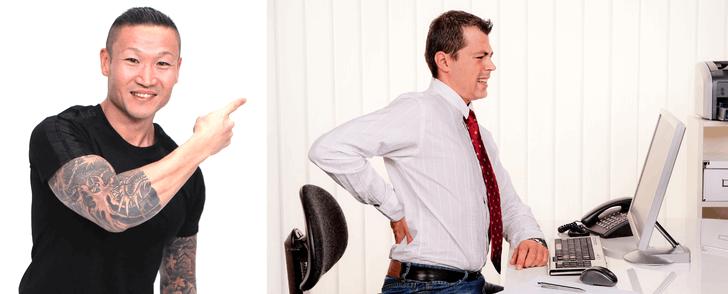Mårten Nyléns bästa tips om du sitter still på jobbet