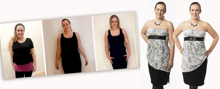 Hennes mål för att gå ner i vikt överraskade alla