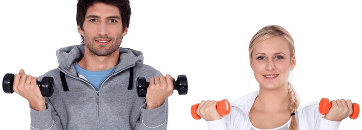 Kroppsvikt, fria vikter eller styrkemaskiner?