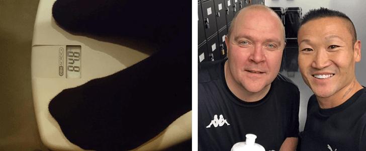 Mikael har gått ner 15 kilo – på fem veckor